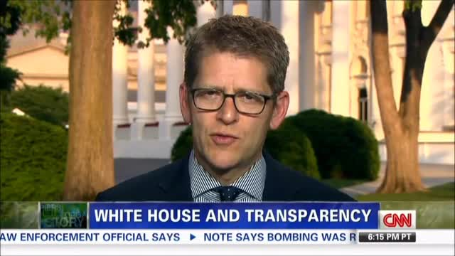 Carney: &#039;This Administration Has a Record on Transparency That Outdoes Any Previous Administration&#039;s&#039;