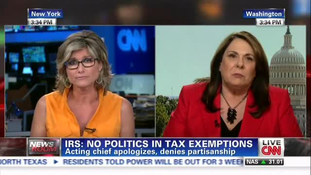 CNN&#039;s Banfield: &#039;Take Me Off the Ledge&#039; and Tell Me IRS Audits Weren&#039;t Political