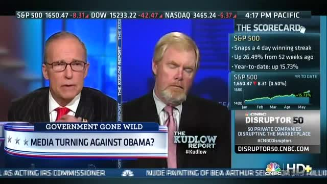 Brent Bozell Discusses Media's Newfound Ire at Obama Administration
