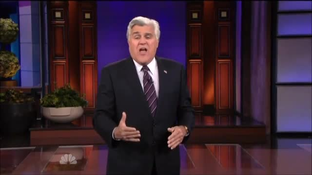 Leno: Its Gotten So Bad for Obama Fox News Changed Its Slogan to See, I Told You So!