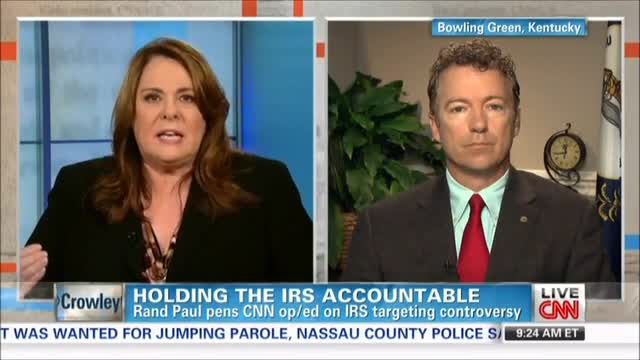 Candy Crowley: Is it Possible This Isn&#039;t Political and IRS Didn&#039;t Intend to Harass the Tea Party?