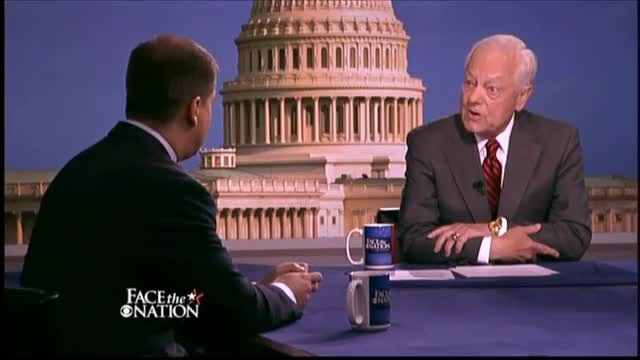 Schieffer to Obama Advisor: 'Why Are You Here? Why Isn't the White House Chief of Staff Here?'