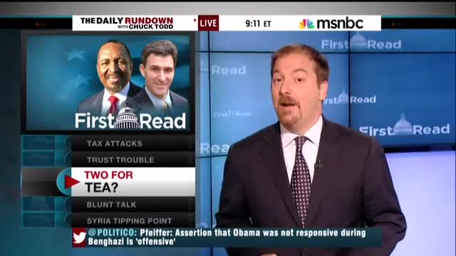 Chuck Todd on GOP Candidate For Lieutenant Governor: 'He Might Make Todd Akin Look Like A Moderate'