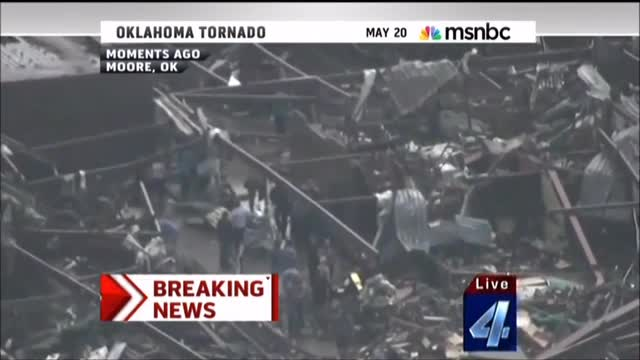 Martin Bashir on Moore, Oklahoma: 'Perhaps the Worst Tornado in the History of the Planet'