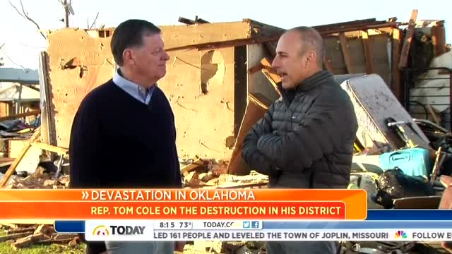 NBC's Lauer Uses Oklahoma Tornado to Bash GOP Over Sandy Relief