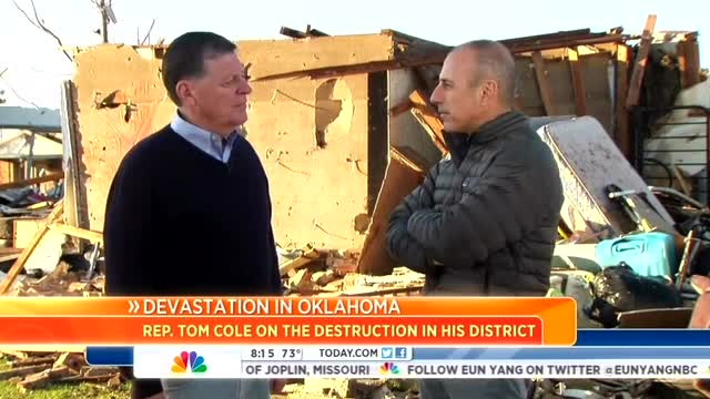 NBC's Uses Oklahoma Tornado to Bash GOP Over Sandy Relief