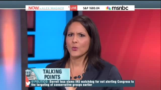 MSNBC's Karen Finney On IRS Scandal: 'Why Didn't Romney Make More Of A Big Deal Of It?'