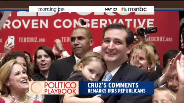 Scarborough, 'Morning Joe' Panel Continue Relentless Attack on Ted Cruz