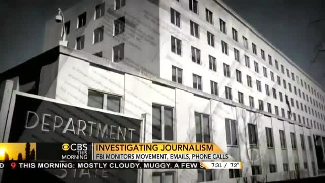 CBS's Crawford Spotlights 'Firestorm' Over DOJ's Criminal Investigation of Fox's Rosen
