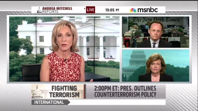 Andrea Mitchell: 'More Than Any of Its Predecessors,' Obama Administration Has Targeted Journalists