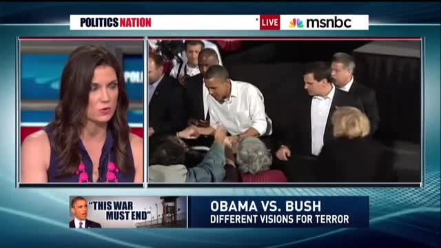MSNBC's Krystal Ball Gushes Over Obama Speech, Claims the President is 'Reining In His Own Power'