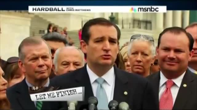 Chris Matthews: 'Ted Cruz is the Unsmiling, Contemptuous Face of the Wild, Nasty, Hard-Right'