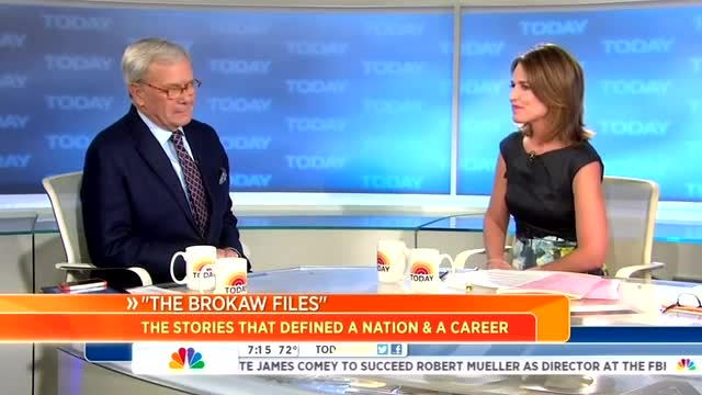 NBC's Brokaw Gushes Over Clintons 'Still At the Top of the Attention Span in This Country'