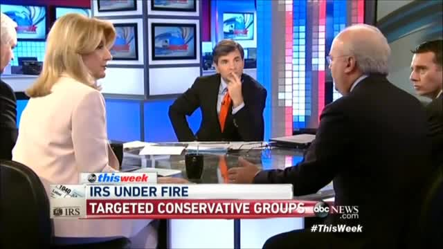Karl Rove Smacks Down Arianna Huffington for Connecting IRS Scandal to His PAC