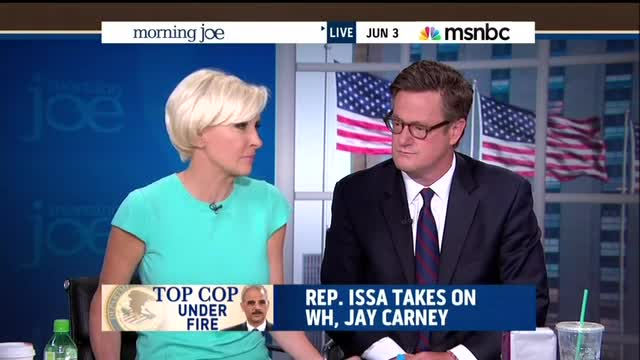 Mika: Issa Calling Carney 'Liar' Makes Want to Ignore IRS Scandal