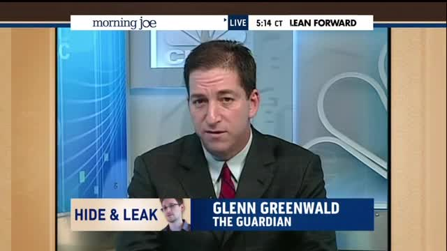 Intelligence Leaks: Greenwald Accuses Mika Of Using 'False' WH Talking Points