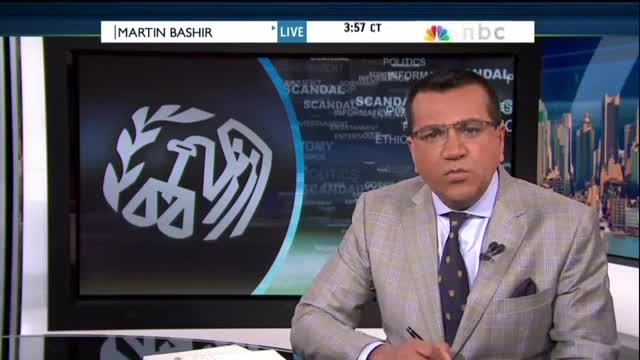 MSNBC's Bashir Equates Scrutiny of Obama With Racism