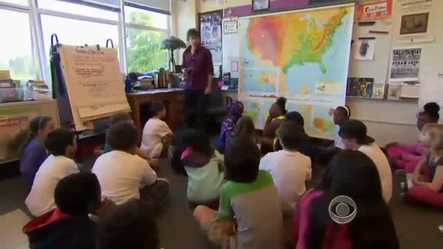 CBS Plays Up Fourth Graders Lobbying For Immigration Reform