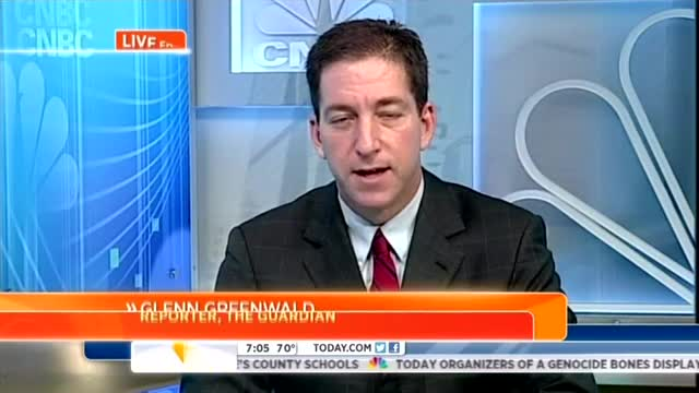 Guardian's Glenn Greenwald Schools NBC's Guthrie on NSA Snooping