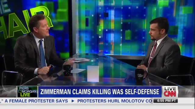 Piers Morgan Uses Trayvon Martin Trial to Argue for Gun Control