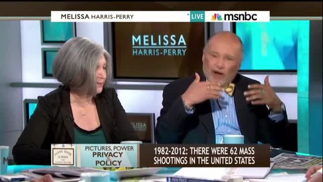 MSNBC's Harris-Perry: 'We Want to Politicize' Newtown, Calls for Parents to Release Photos of Slain Children