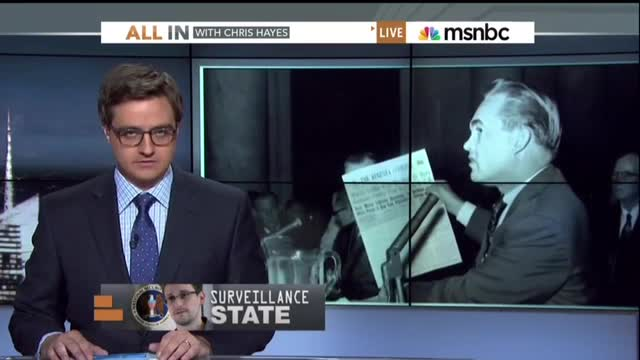 MSNBC On-Air Graphic Disgustingly Labels Democrat Segregationist George Wallace Republican