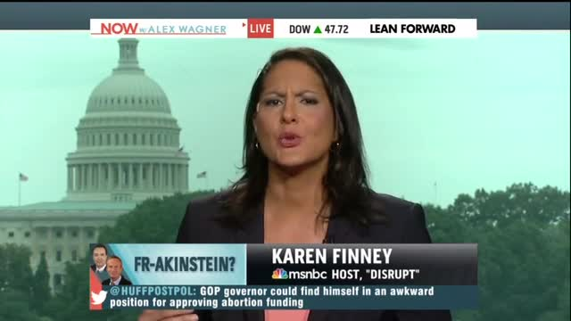 MSNBC's Karen Finney Suggests Banning Race-Based Abortion Is 'Whacked Out'