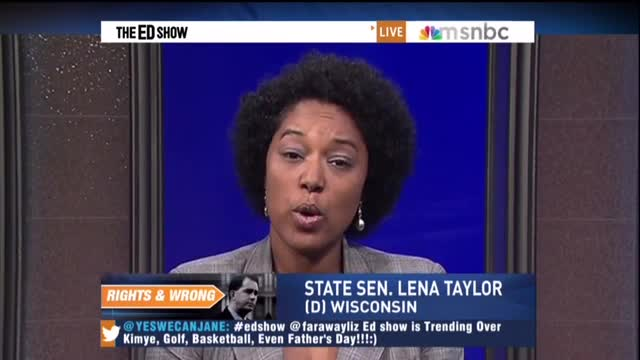 MSNBC's Schultz Hypes Republican 'War on Women,' Guest Compares Pro-Life Legislators to Taliban