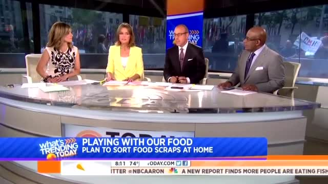 'Today' Hosts: Bloomberg Forcing New Yorkers to Sort Rotting Garbage a 'Great Idea'