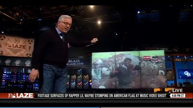 Glenn Beck on the Obama support of the Syrian Al-Qaeda cannibal psychos