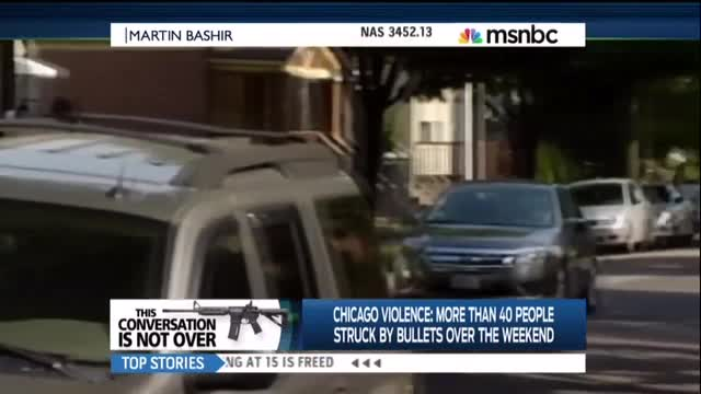 Martin Bashir Politicizes Chicago Shootings While Ignoring True Cause of Gun Violence