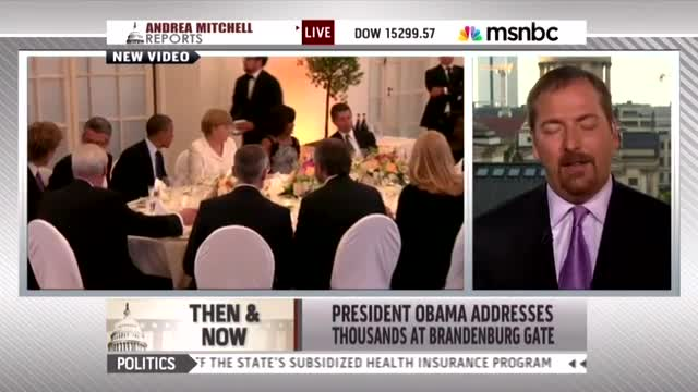 NBC's Todd Excuses Obama's Poor Speech Performance: Crowd Too Small, 'It Was Hot'