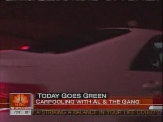 NBC's 'Today' Carpools to Work for 'Green Week'