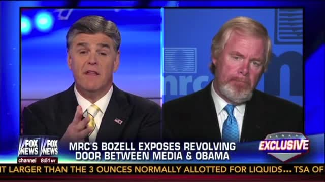 MRC's Bozell, FNC's Hannity Discuss Revolving Door of Liberal Journalists Working For Democratic Presidents