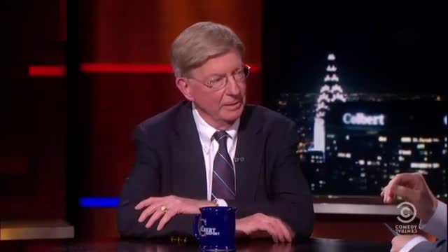 George Will Schools Stephen Colbert on Difference Between News on FNC and ABC
