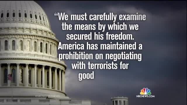 Only NBC Nightly News Mentions GOP Criticism of Obama Failing to Notify Congress Regarding Release of Terrorist Prisoners