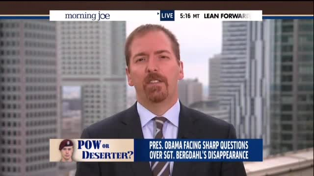 Chuck Todd Peddles White House Talking Points, Claims 'Taliban Leaders Have No American Blood On Their Hands'