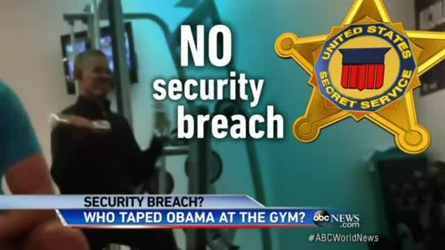 CBS Gushes Over Obama Dumbbell Workout, ABC Fears 'Security Breach,' NBC Ignores Viral Video Altogether