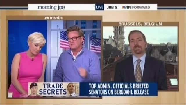 Chuck Todd Attacks Joe Scarborough's Criticism of Bergdhal's Father: 'It's Not Logical'