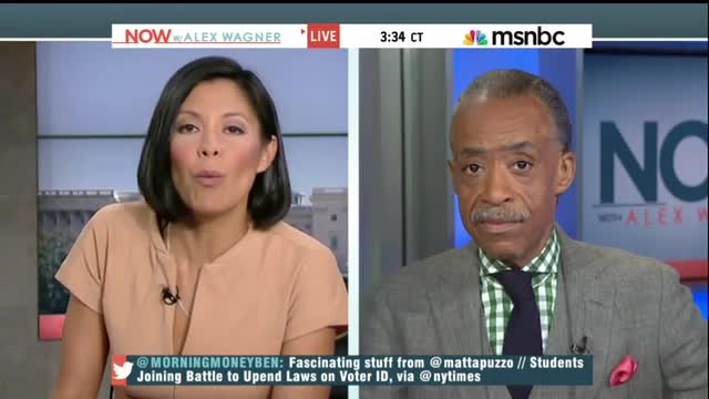 MSNBC's Alex Wagner Asks 'Are North Carolina's Voter ID Laws The New Jim Crow?'