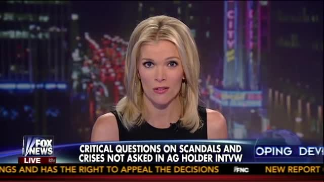 Megyn Kelly Unloads on ABC for Softball interview With Attorney General
