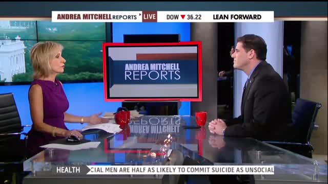 Andrea Mitchell Asks 'Why Shouldn't' Iran 'Develop A Nuclear Program' If Israel Has One