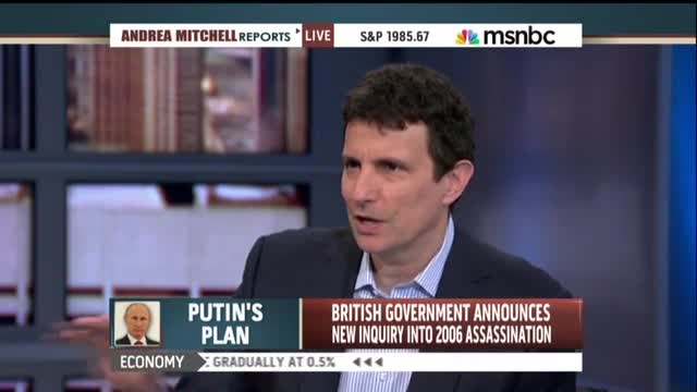 'New Yorker' Editor Compares Putin to Glenn Beck on 'Andrea Mitchell Reports'