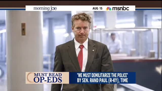 Sharpton Uses Rand Paul To Take Civil Rights Shot at Hillary