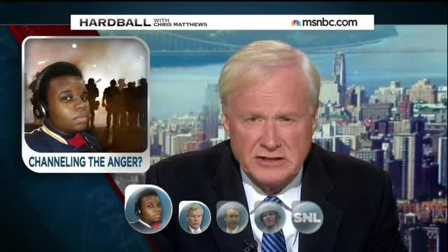 Chris Matthews Plots Strategy With Dems on How to Use Ferguson Unrest for Midterms