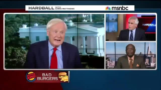 In Rush to Condemn Burger King, 'Hardball' Host Makes Whopper of a Factual Error