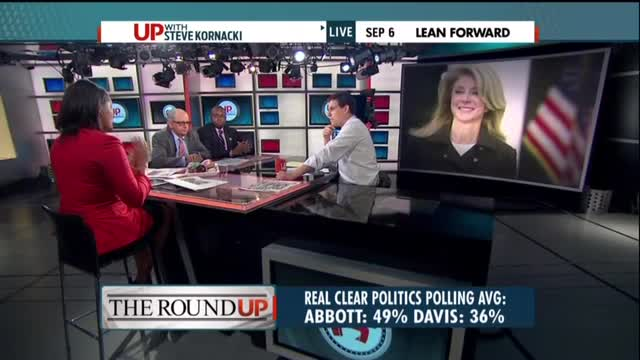 MSNBC's Finney Claims Wendy Davis's Abortion Will 'Resonate With Moderate Women'