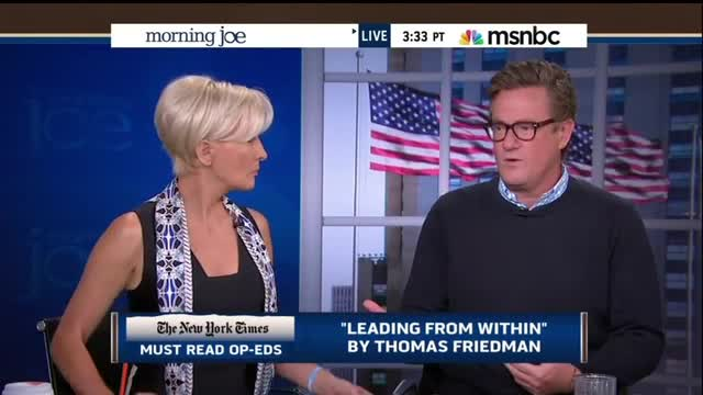 Scarborough Comes Close To Calling Thomas Friedman a Fool: Carbon Tax Won't Stop ISIS
