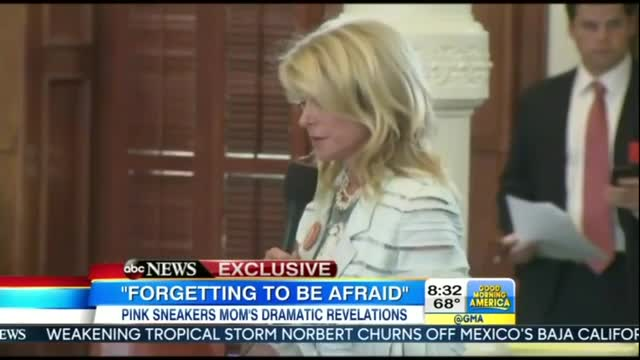 GMA Lobs Softballs At Wendy Davis During Promotional Interview