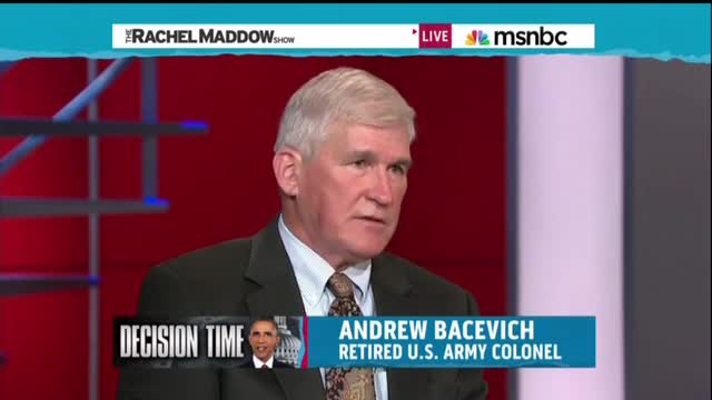 Maddow talking head conspiciously avoids citing Islam as motivating ISIS